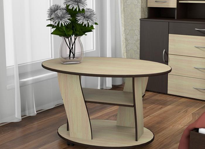 недорогой овальный столик