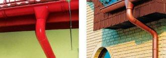 Причины выхода из строя водосточных систем